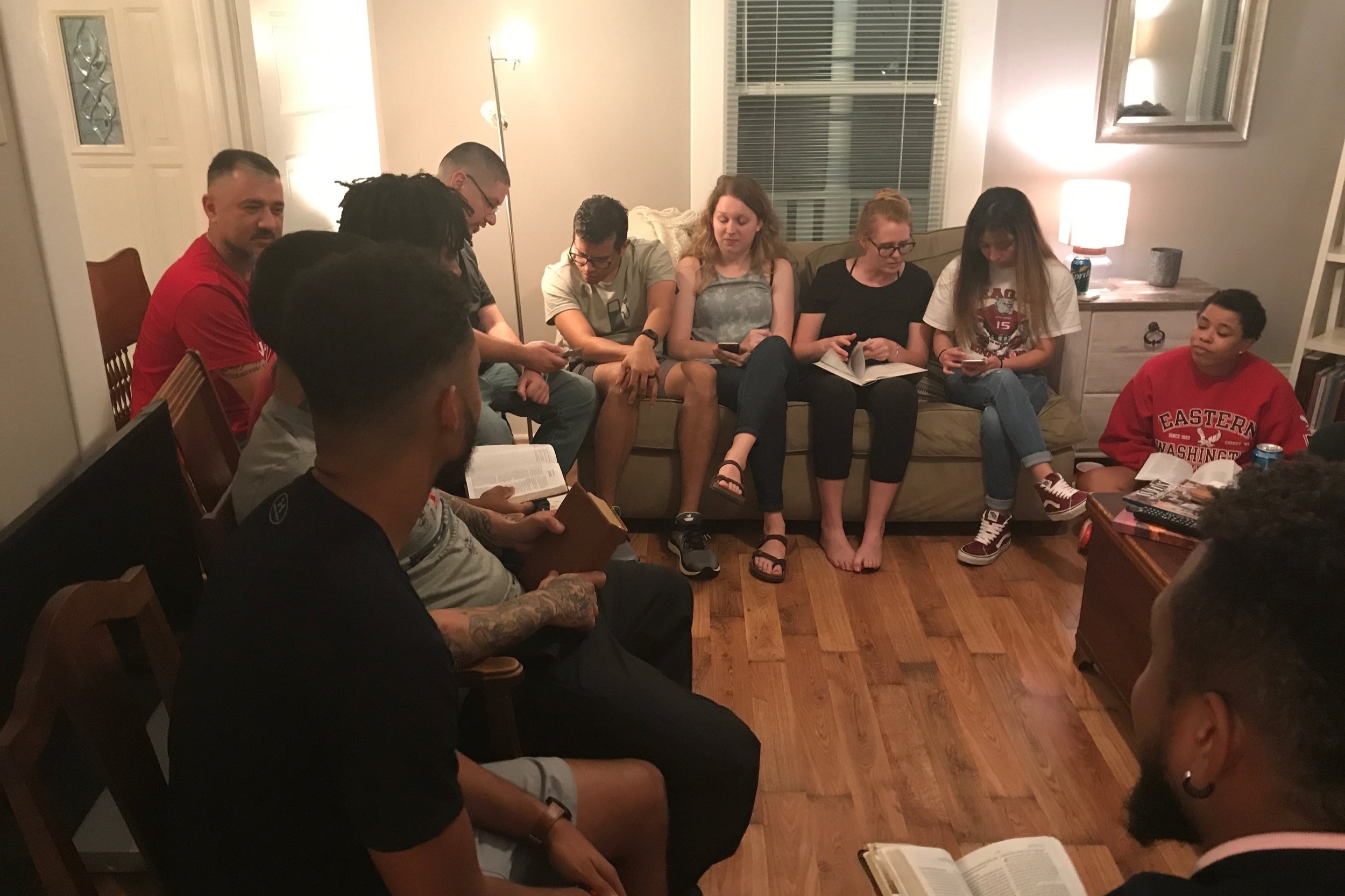 Get connected - Experiencing authentic biblical community