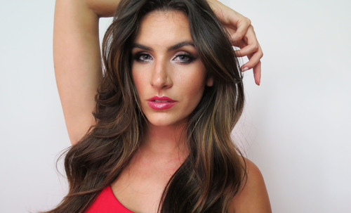 My attempt at Megan Fox's sultry look :)