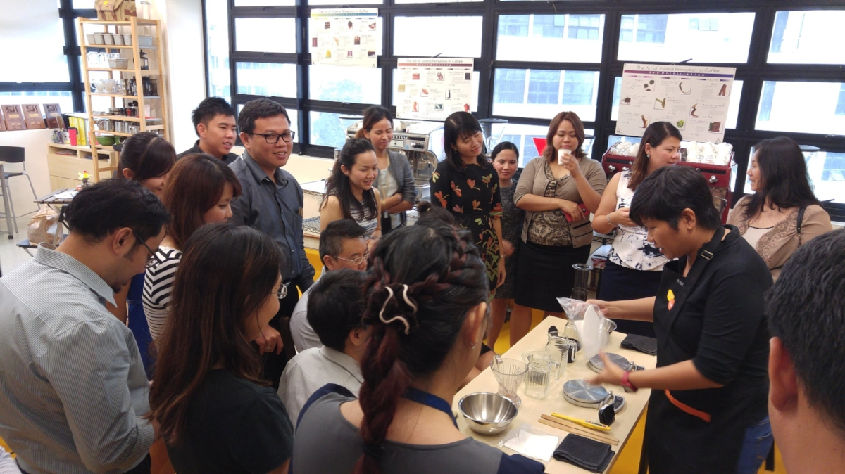 And trained over 4,300 coffee professionals from more than 30 countries - Including Australia, Myanmar, Taiwan and Zimbabwe!