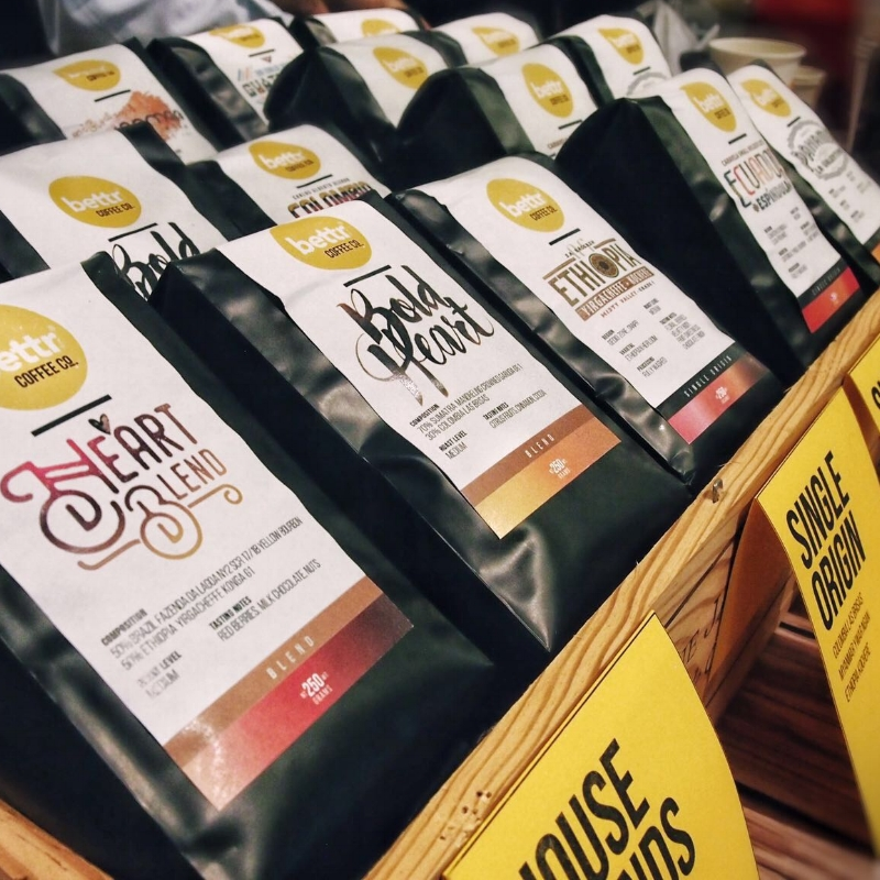 COFFEE THAT CARES -