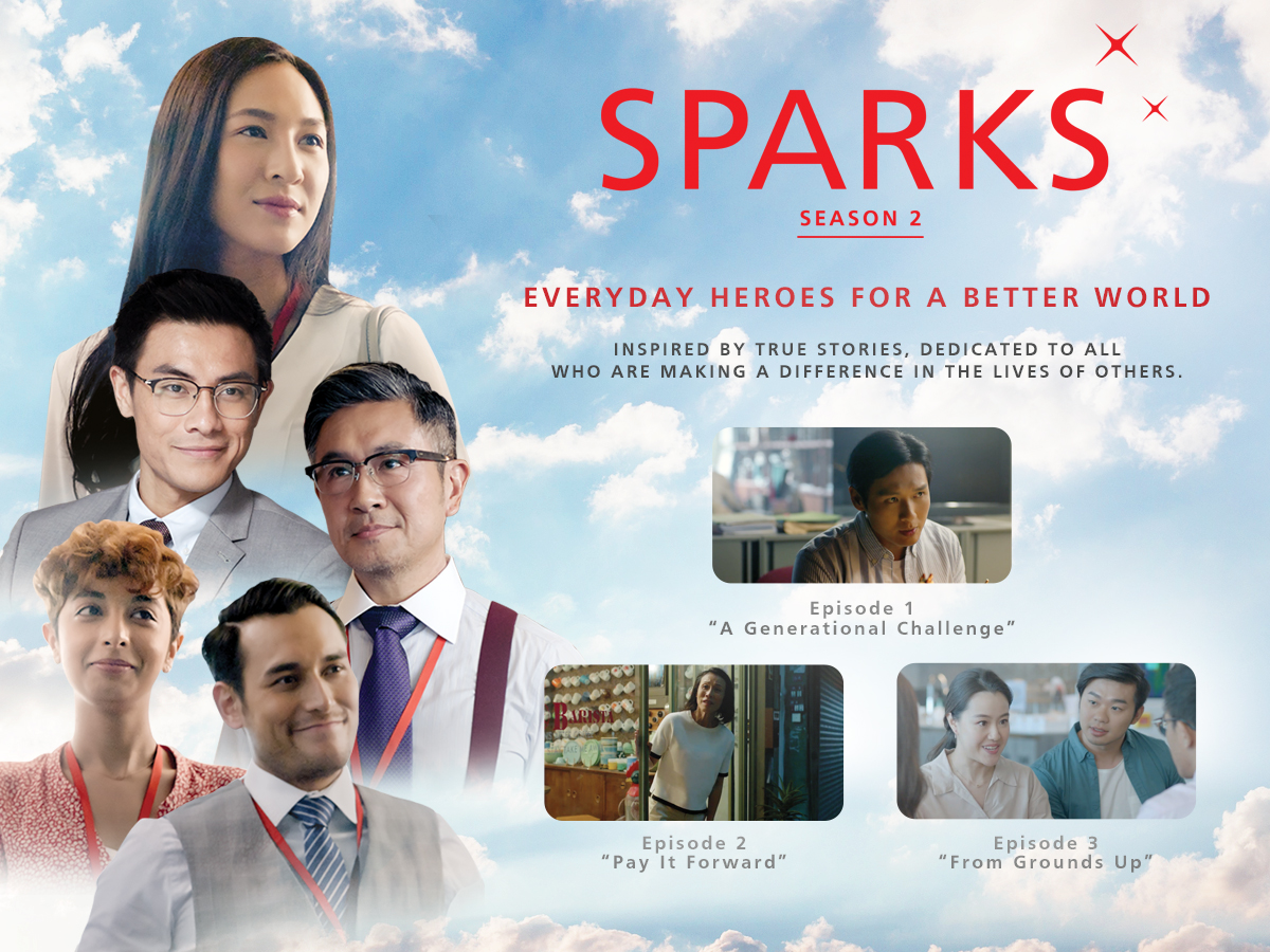 Catch our story on DBS Sparks - A mini-series inspired by true stories and dedicated to all who are making a difference in the lives of others.
