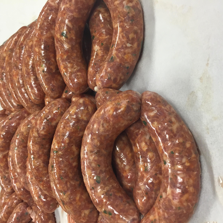 Hot Italian Sausage Links!