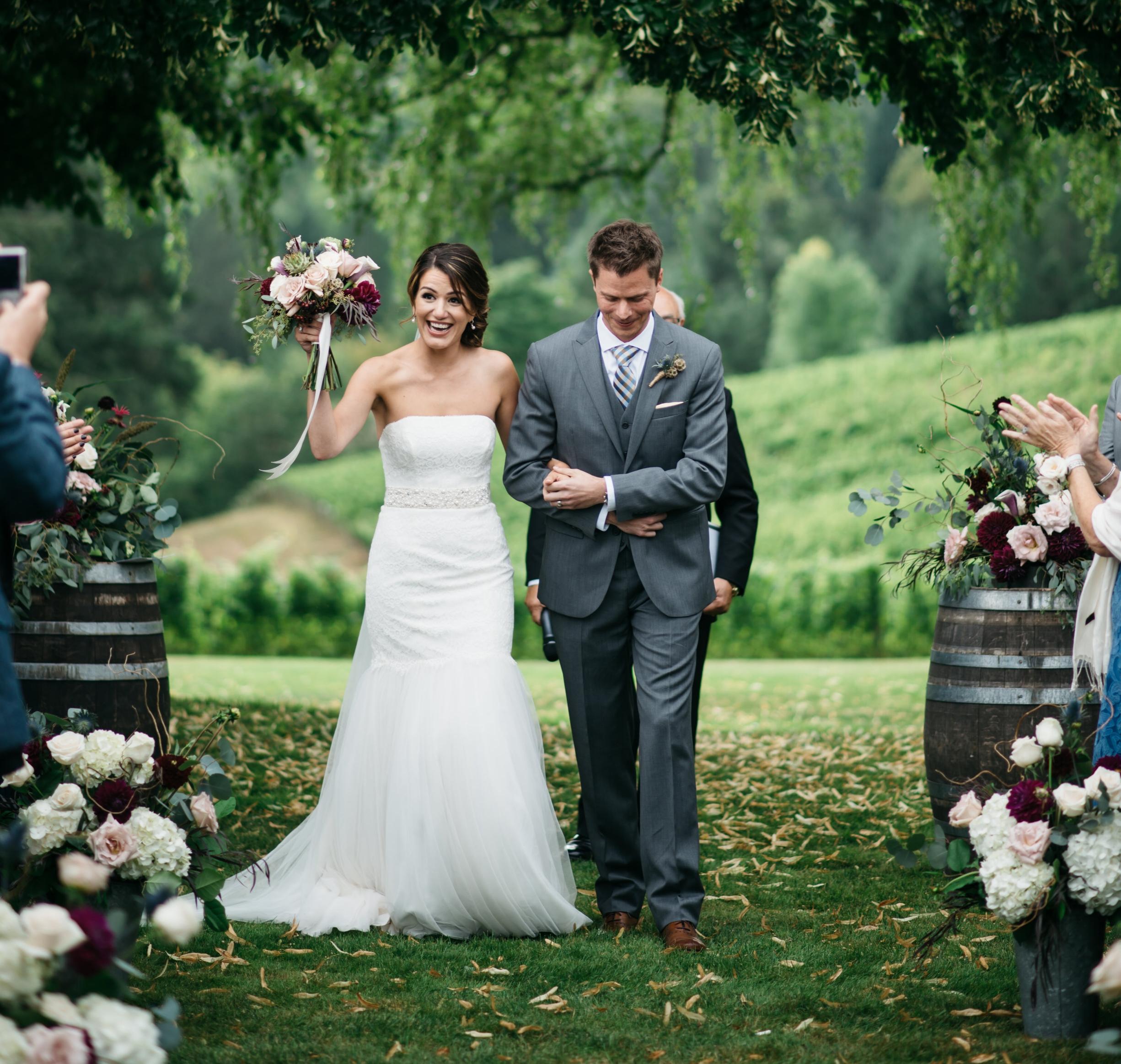 Grossen Wedding - David Hill Winery