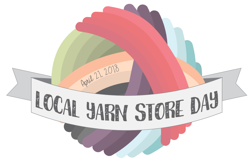 """TNNA (The National Needlearts Association) has declared  Saturday, April 21st as the first  Local Yarn Store Day . From their website... """"Calling all knitters, crocheters, weavers, spinners and general crafters! We know yarn stimulates your senses, from feeling the fibers to seeing the variety of colors, but you have to be in the store to experience it. This is your chance to celebrate everything you love about yarn and help others enjoy those same experiences. Teach a friend to knit and bring them to your local yarn shop on April 21! Share your passion for the craft and your favorite yarn store on social media.""""  As your local yarn store, we truly appreciate your support, especially at a time when many local yarn stores are closing. We all know there's nothing like the experience of walking into a yarn shop - it's a feast for the senses! You can see the beautiful colors, feel the different textures, get help and advice, and learn new techniques. Local Yarn Store Day is a day to celebrate and share your yarn store love! Come. Bring a friend! Teach a friend to knit or encourage them to sign up for a knitting lesson!  We have some fun things planned for the day, including:    - A  raffle for a set of  FlexiFlip needles - these are all the rage and we managed to get our hands on 2 sets. Stop in to fill out your raffle ticket!    - A  yarn tasting from  Classic Elite - sign up  here to reserve your spot (we have limited space) to try out 5 of CEY's yarns. If you decide on a project with one of these yarns, we give you 10% off your purchase!    - Trunk shows from  Berroco and  Classic Elite to inspire your spring/summer knitting.    - Purchase any of the  Knitting Fever or  EuroYarn brands and receive a coupon for a free pattern download.    - In appreciation of your support, all Clearance yarns will be 50% off the original price  on Local Yarn Store Day. The clearance shelves are full to overflowing so we could free up shelf space for the newly arrived yarns. Be sure to"""