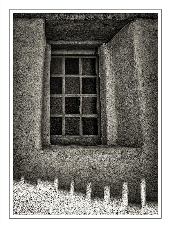 San Juan Bautista Mission Window