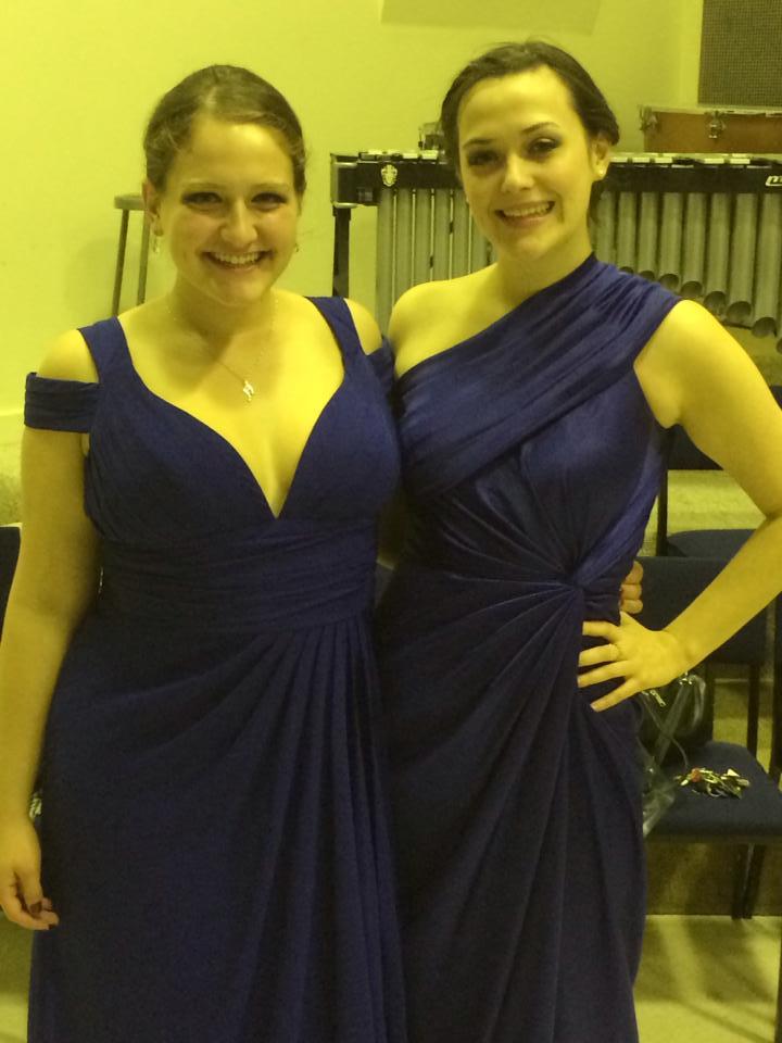 Ann Fogler and Holly Kelly at Ann Fogler's Junior Recital 2013