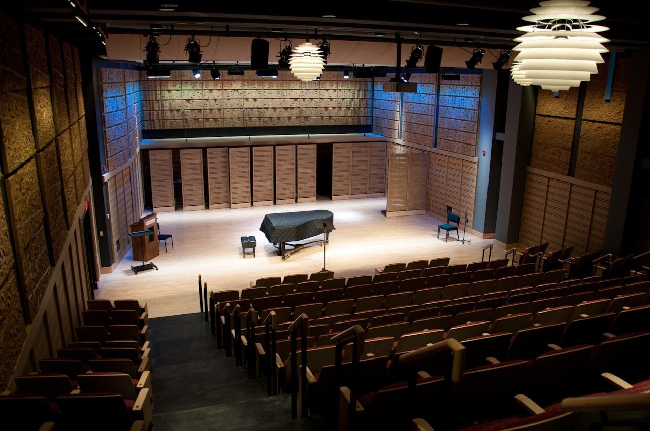 Dickinson College's Rubendall Recital Hall