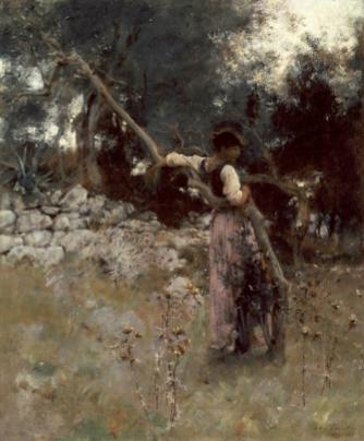 John Singer Sargent, A Capriate (1878)