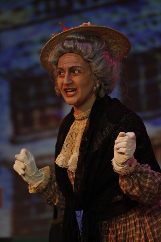 Ann as Mrs. Herring in Albert Herring.