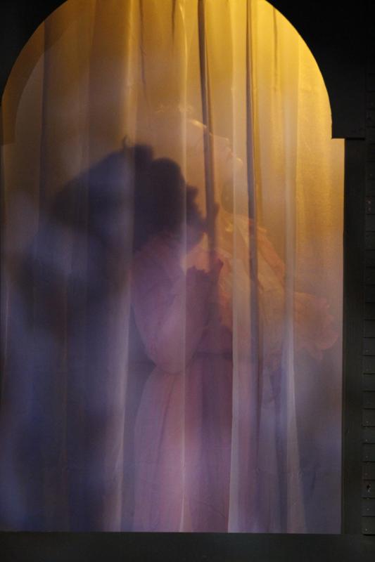 Ann as Donna Elvira's Maid in Don Giovanni.