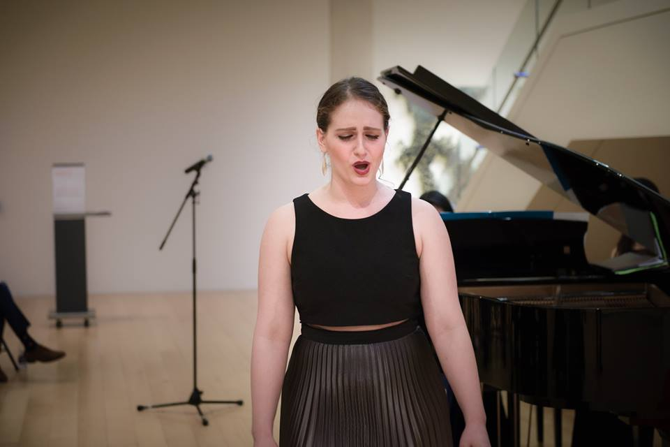 Ann performing with  The Boston Art Song Society  on January 11, 2018.