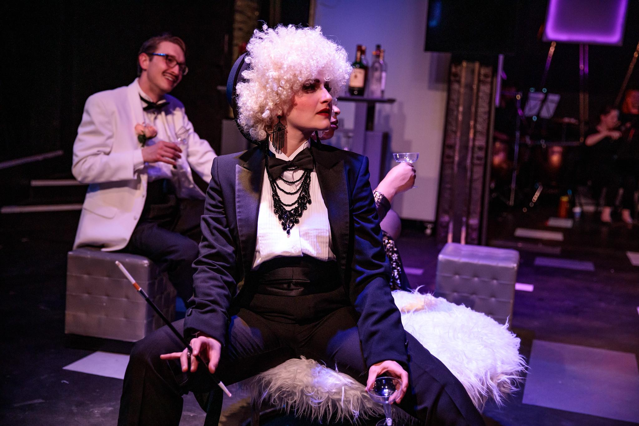 Ann as Orlofsky with MassOpera, 2019.  📸Nile Scott Studios