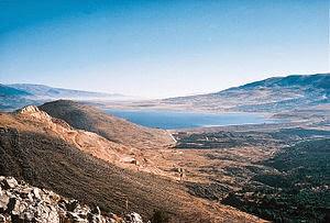 Qaraoun Lake in the Bekaa