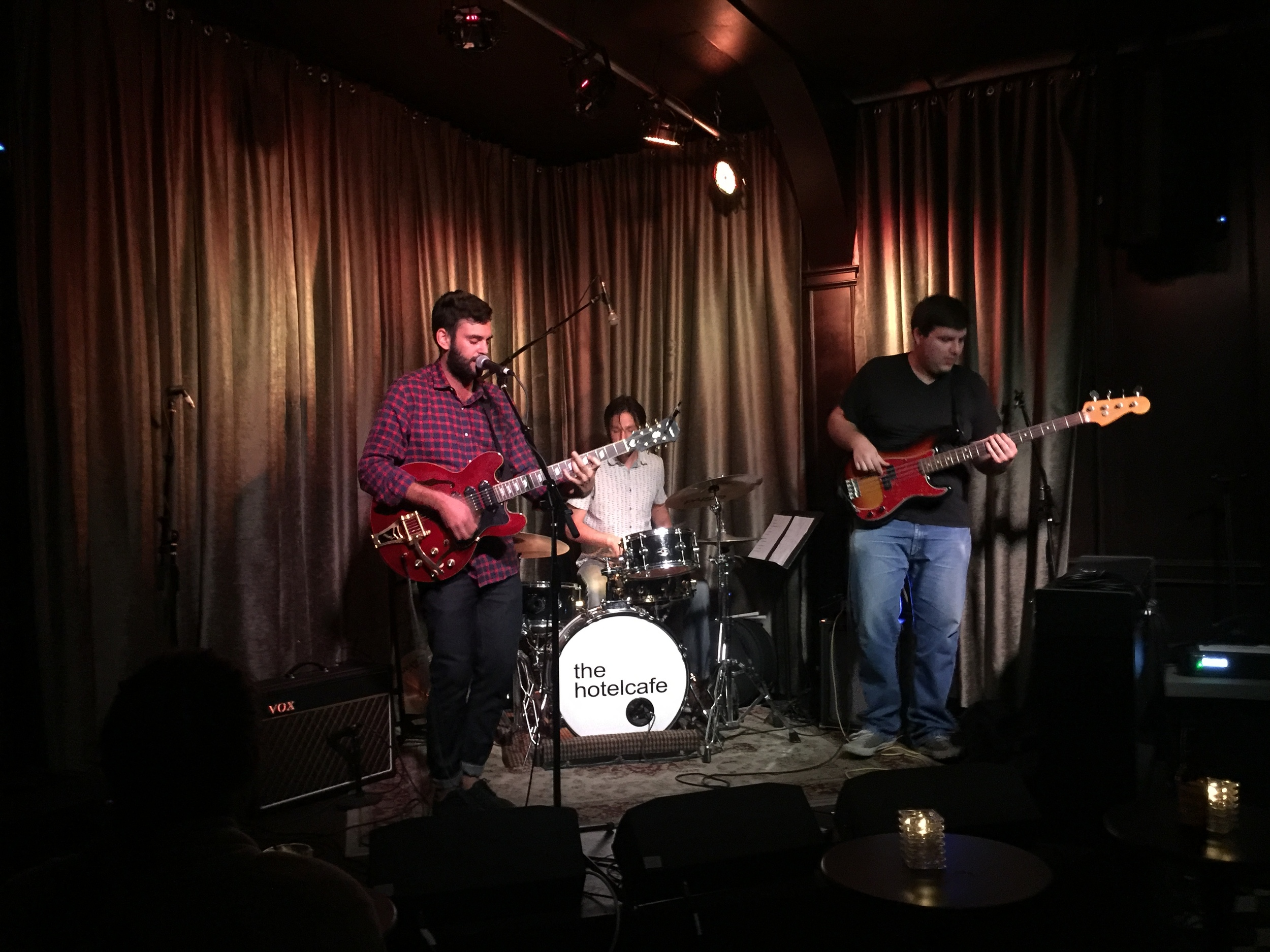 J. BONIGNO LIVE AT THE HOTEL CAFE ON 4/1/16