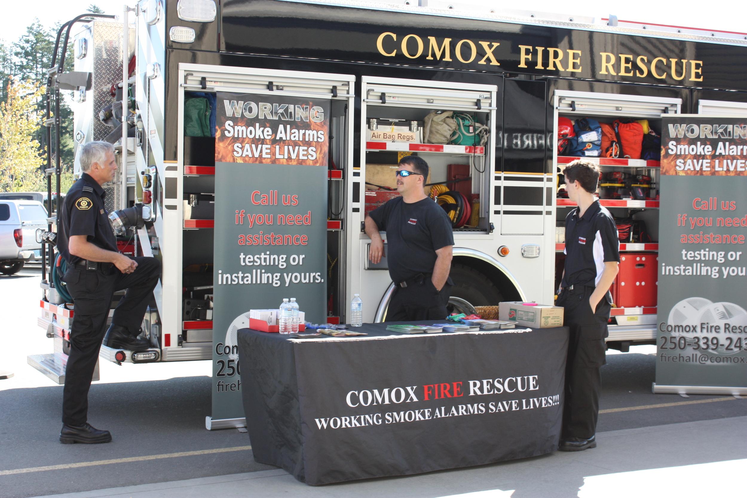 Working smoke alarms save lives!