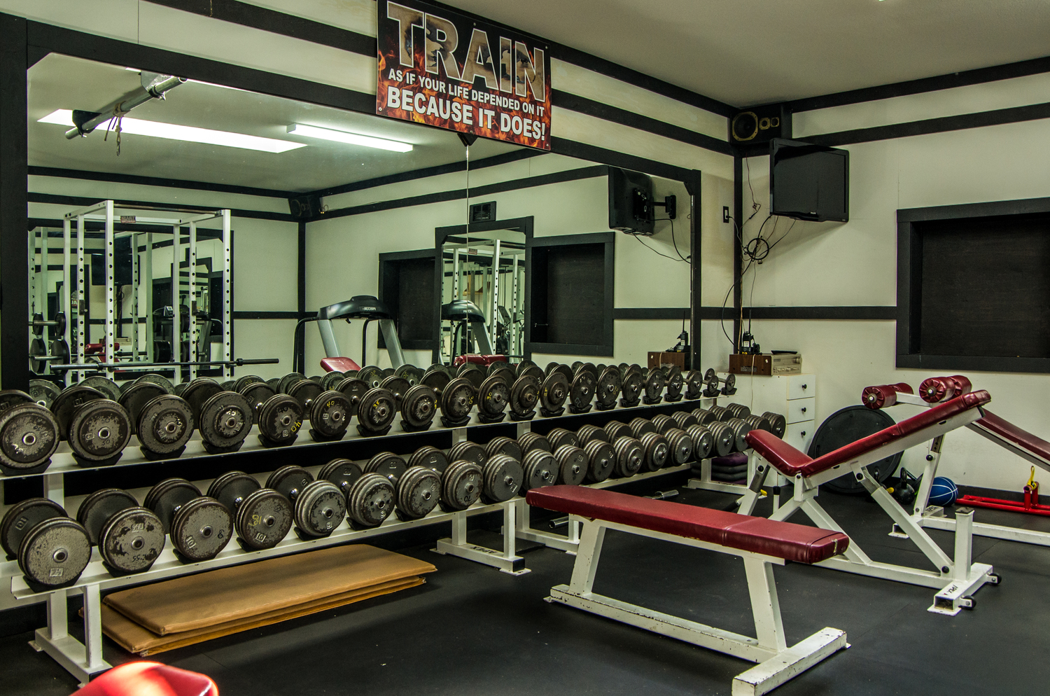 24/7 access to a very well-equipped fitness centre