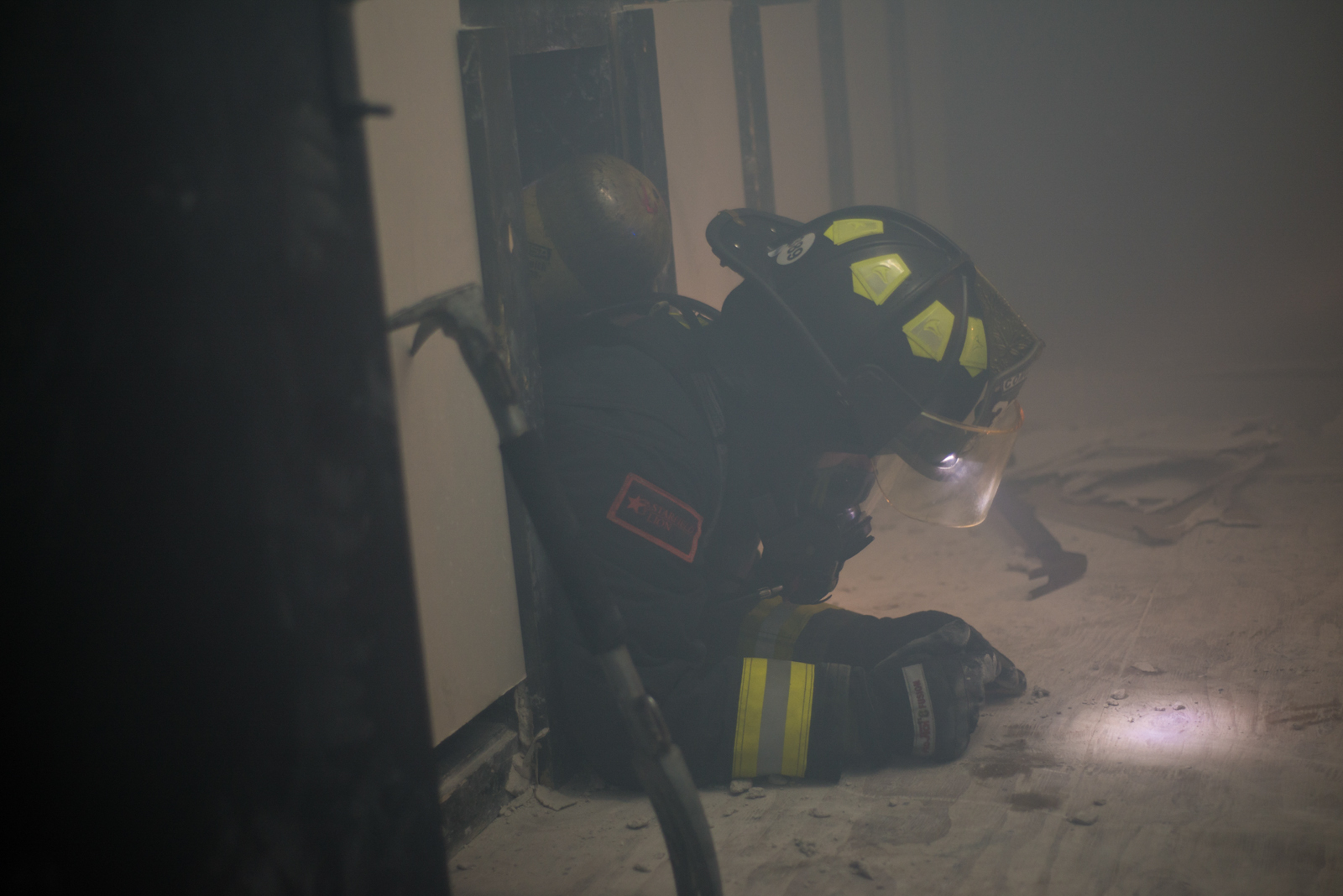 Teaching firefighters to save themselves!