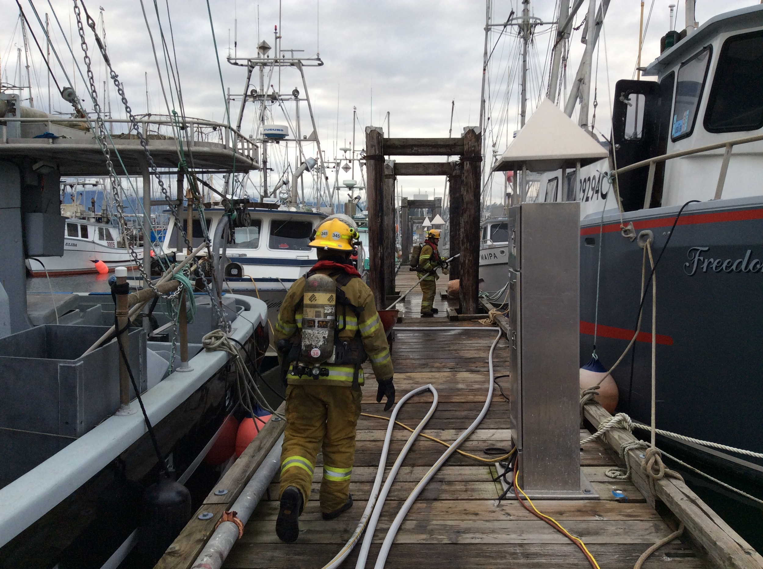 We have plenty of boats to keep safe in Comox