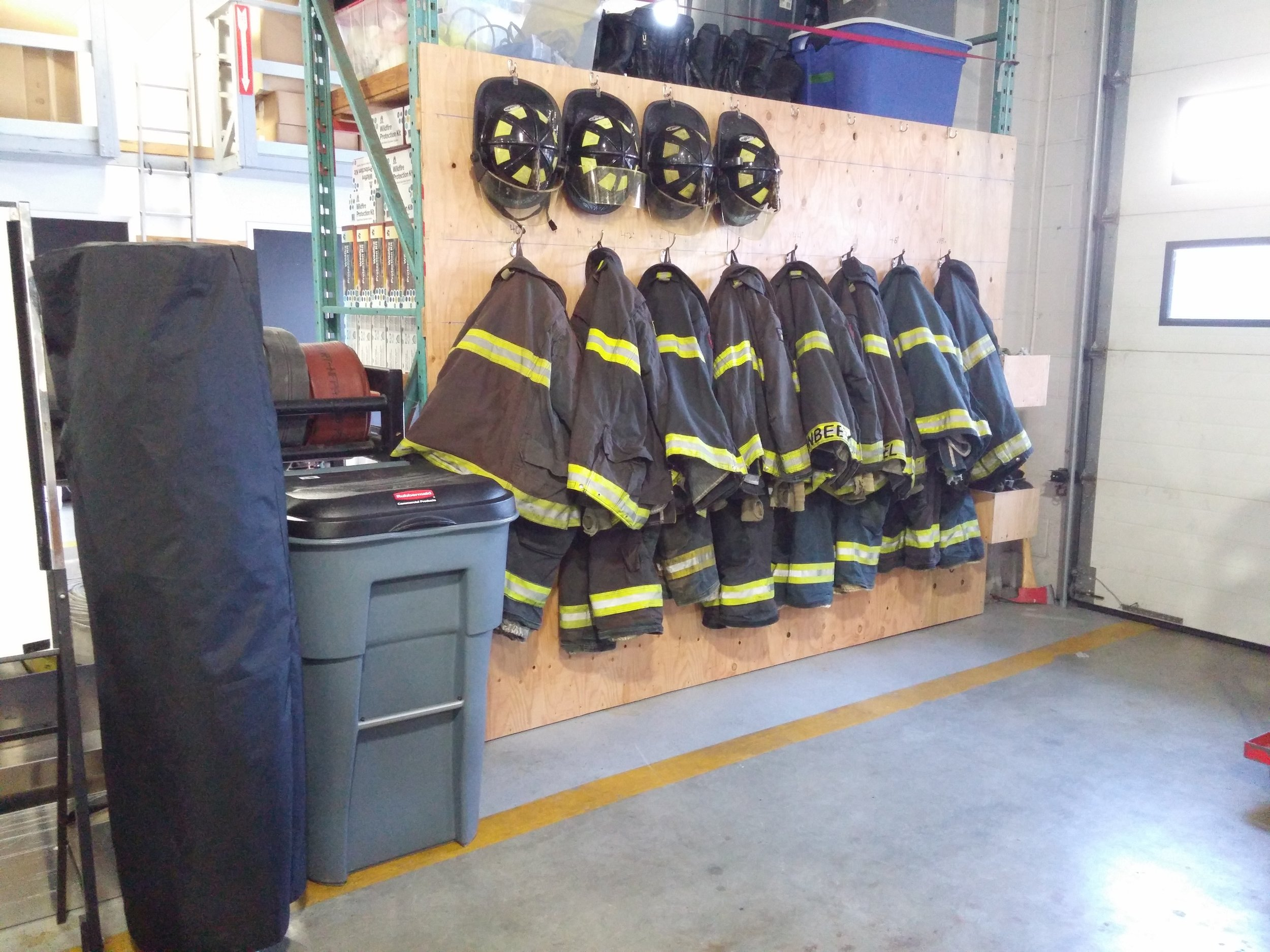 spare turnout gear cancer prevention