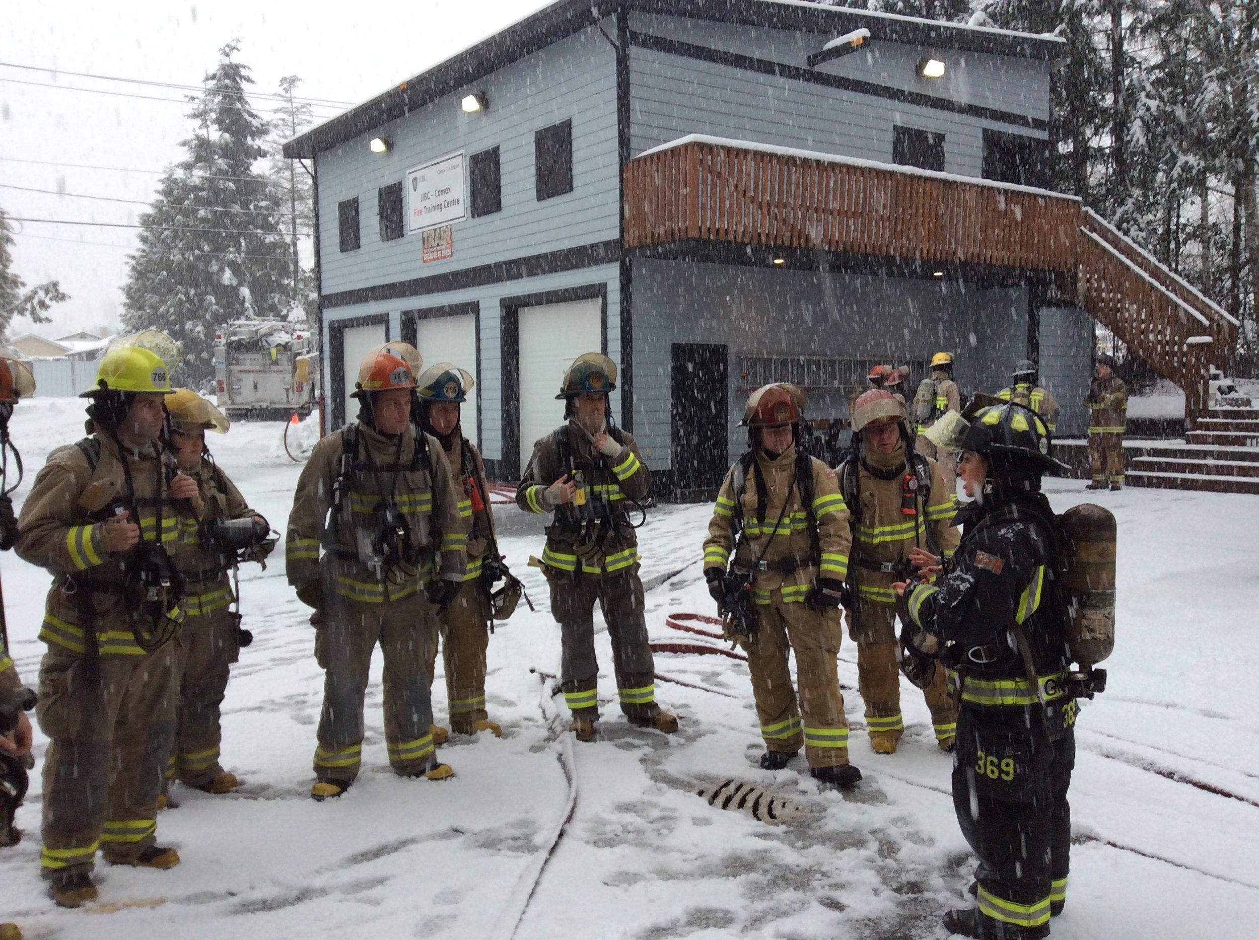Fire Attack in the snow!