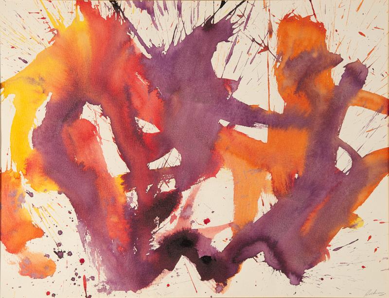 """SANS TITRE  Encre /papier 19,5x25,5"""" // 49,53x64,77 cm 1972"""