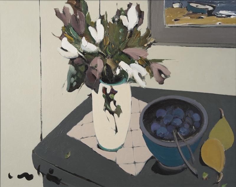"""Sans titre  Acrylique/Panneau 24x30"""" // 60,96x76,2 cm"""
