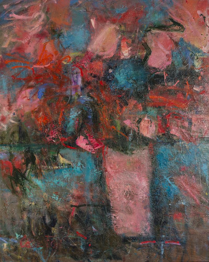 """Sombre lumière  Huile/Toile 42x32"""" // 106,68x81,28 cm 2002"""