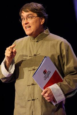 David Moser performing crosstalk
