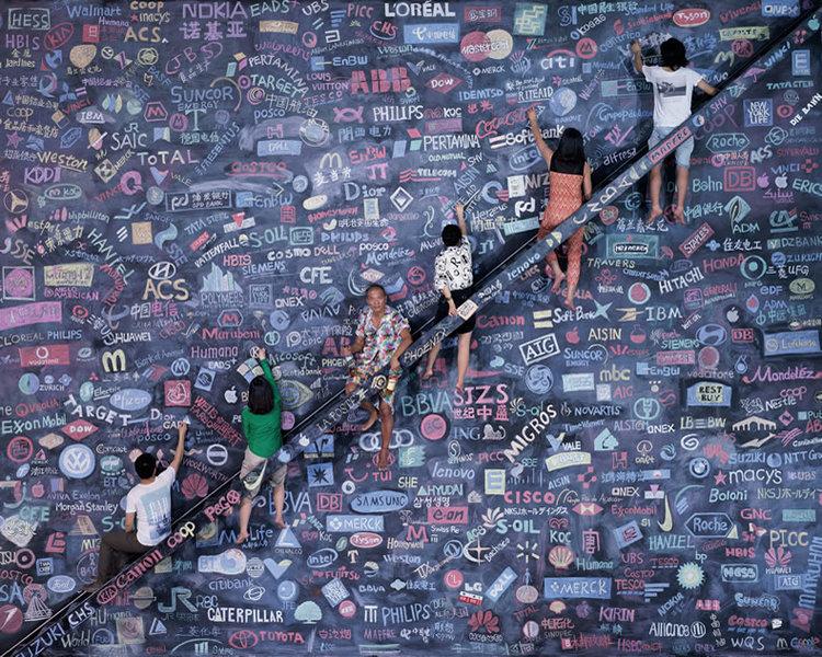 One World, 2014 (Taken from  www.wangqingsong.com )