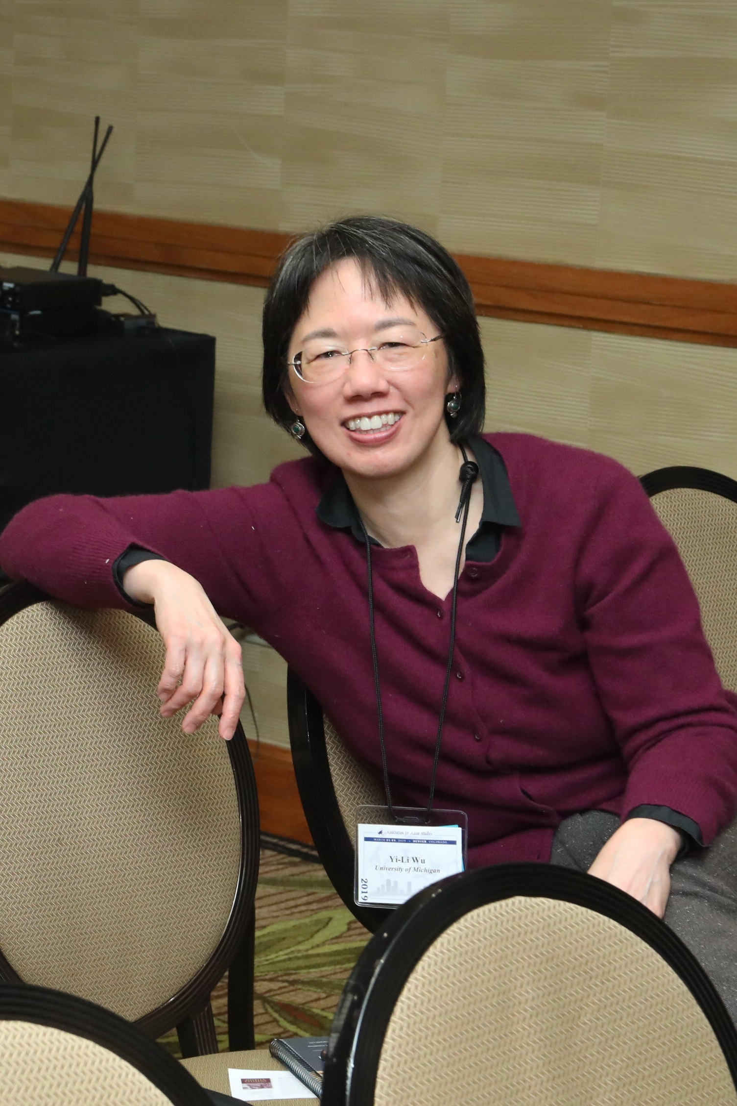 Yi-Li Wu   Professor Women's Studies