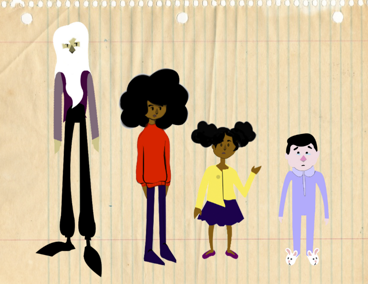original lucid character designs by Olivia Peace
