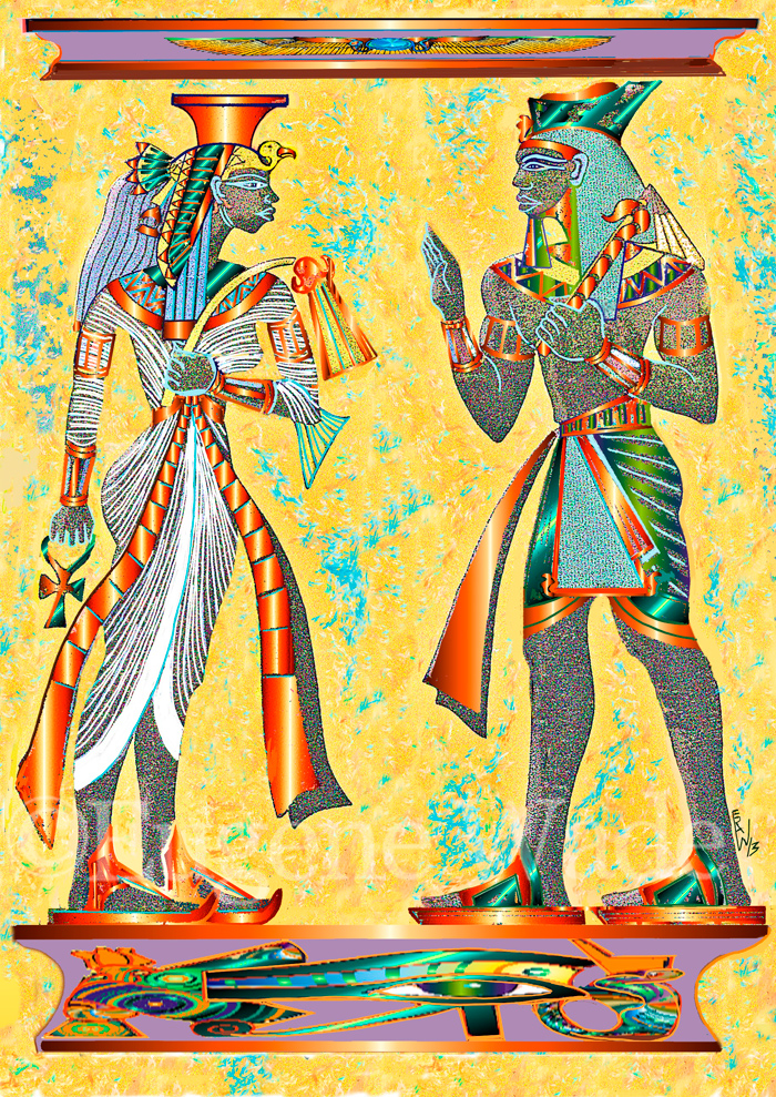 Queen and Pharoah