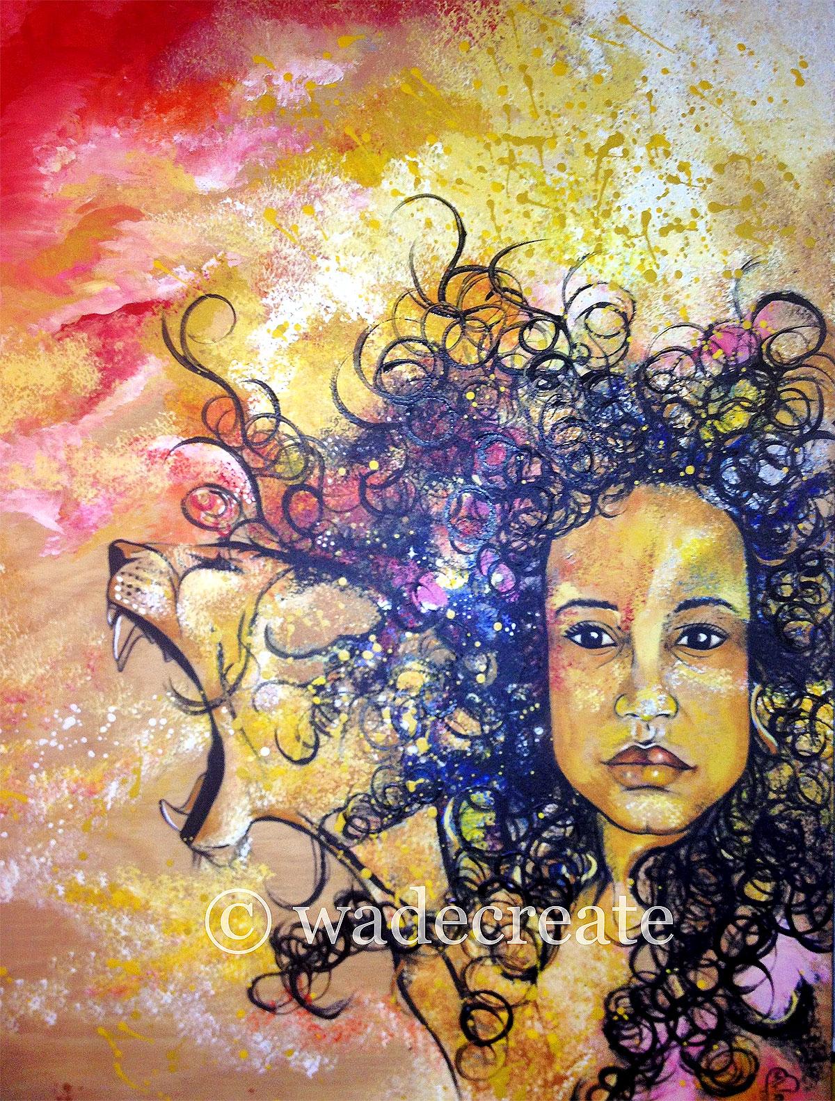 Lionhearted (Self Portrait)