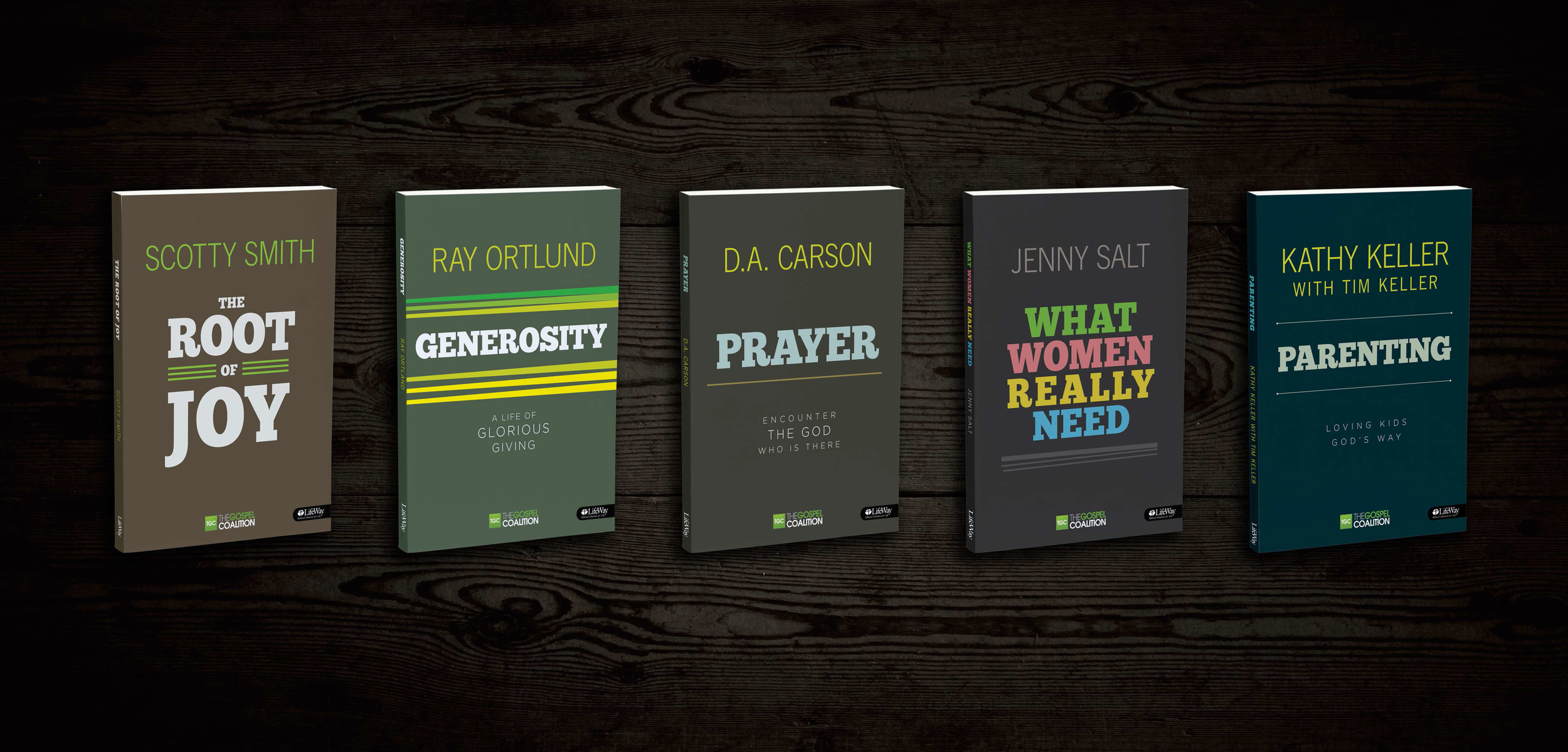 Covers for The Gospel Coalition Bible Study Branding Presentation