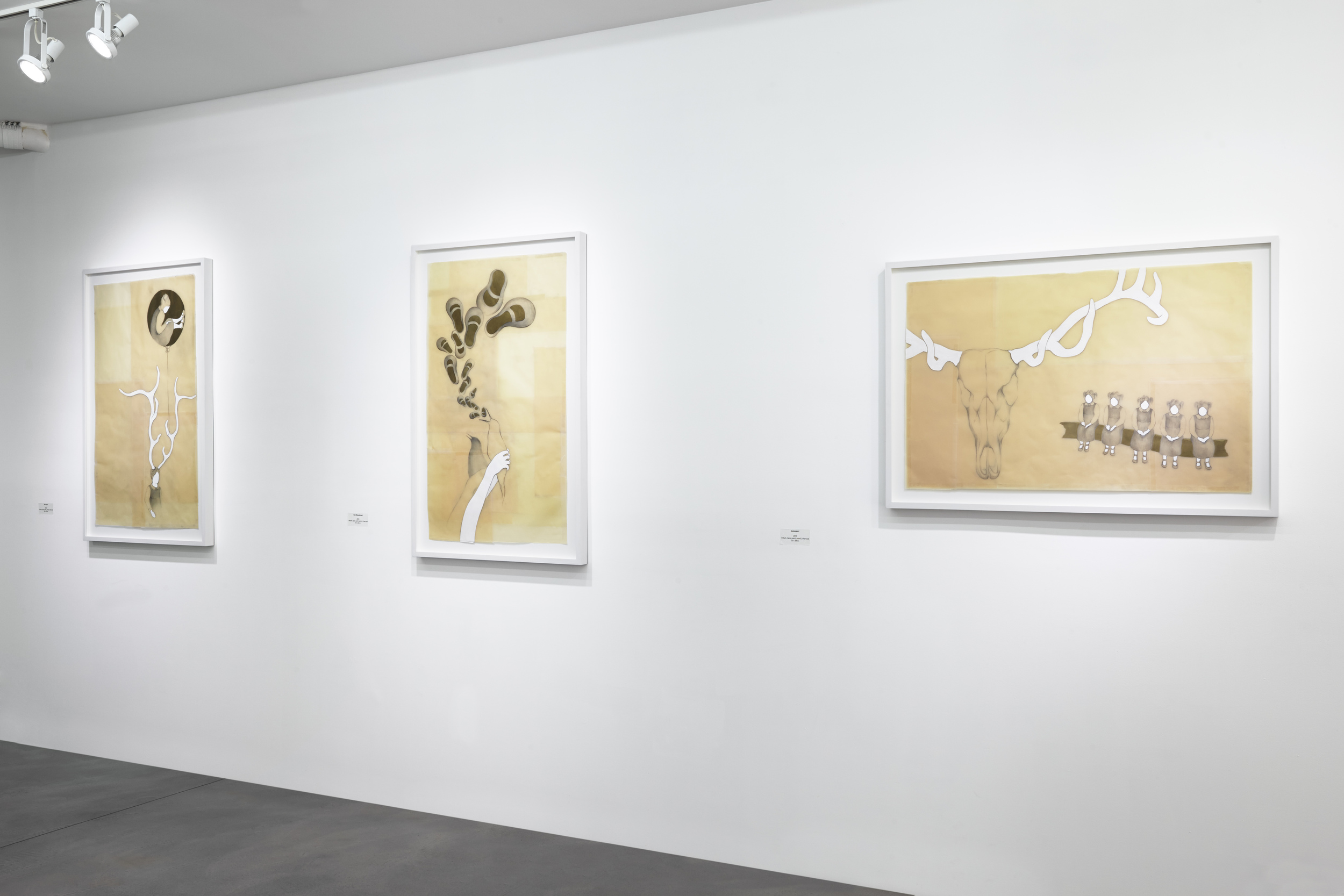 Drawing Installation View