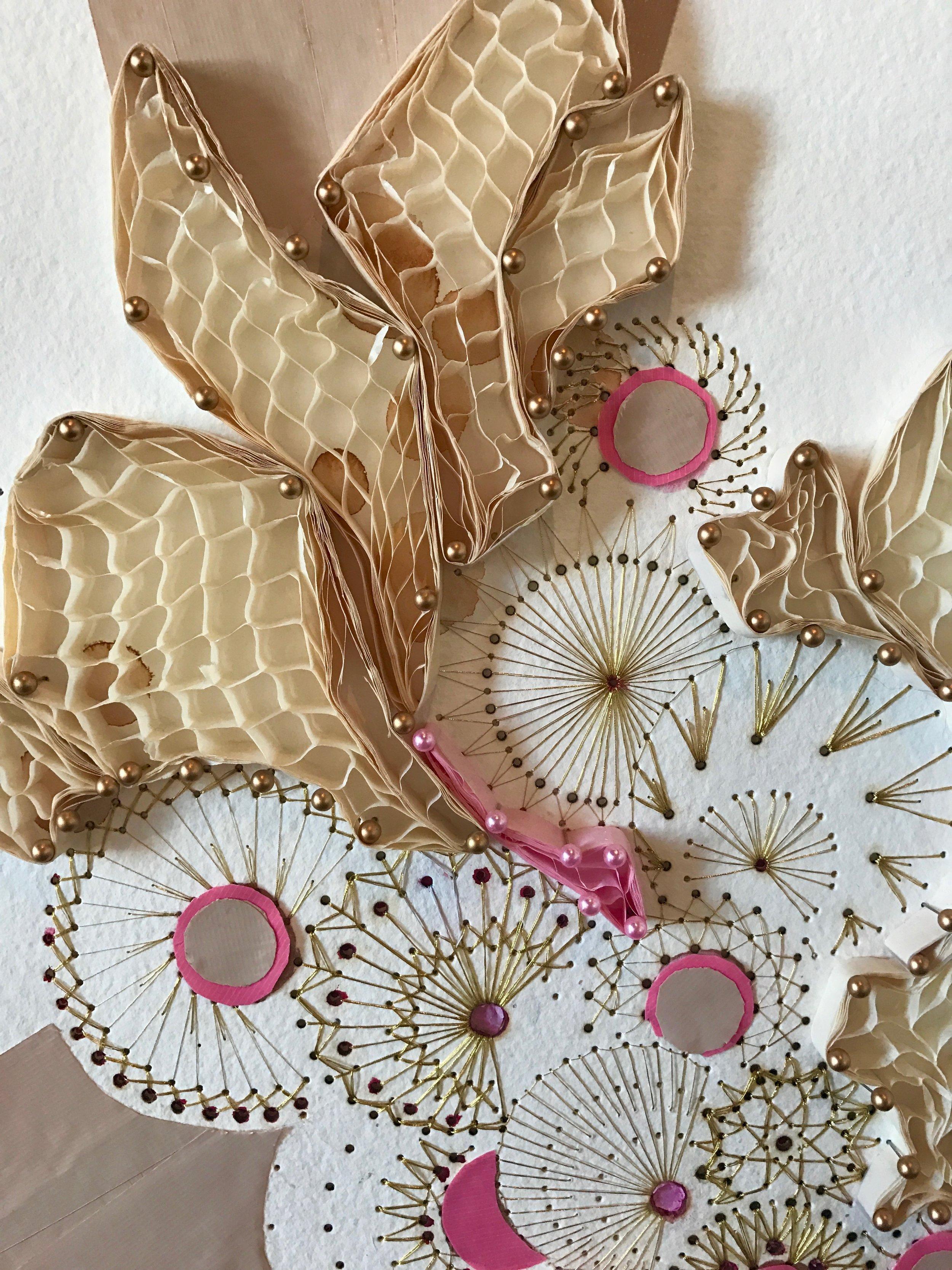 Wedding Confetti Close-Up