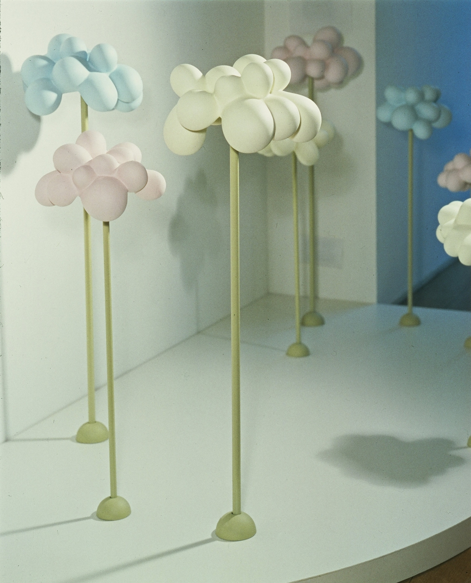 ALMOND CANDY FLOWERS INSTALLATION SHOT