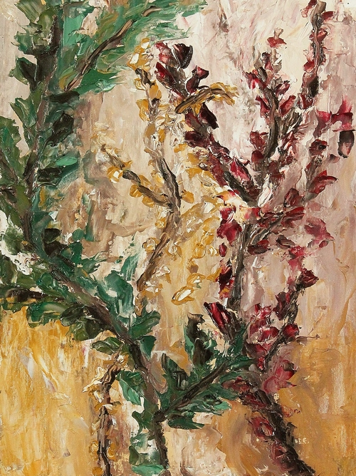 Flora    Oil on Canvas  18 x 24  Sold