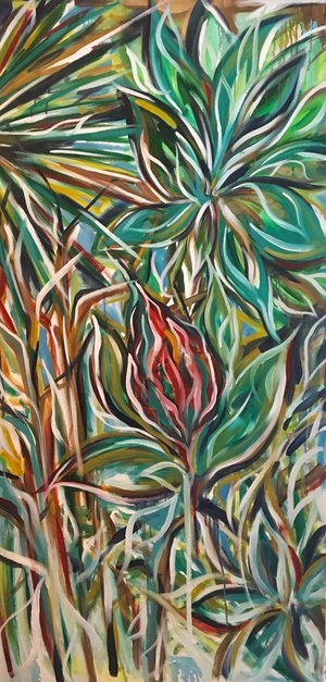 The New Chapter    Oil on Canvas  36 x 72  Sold