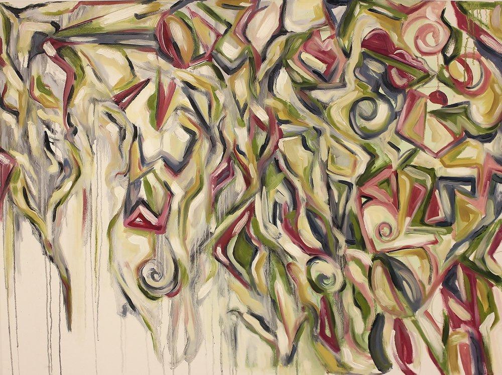 Hello Again    Oil on Canvas  40 x 30  Sold