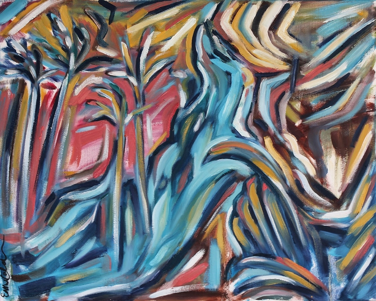 Kona    Oil on Canvas  30 x 24  Available - contact for details