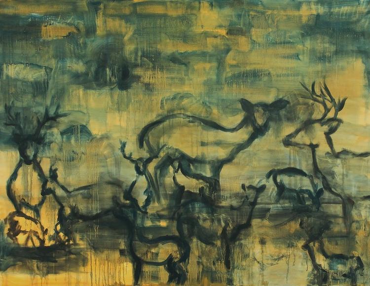 Still    Oil on Canvas  60 x 48  Sold