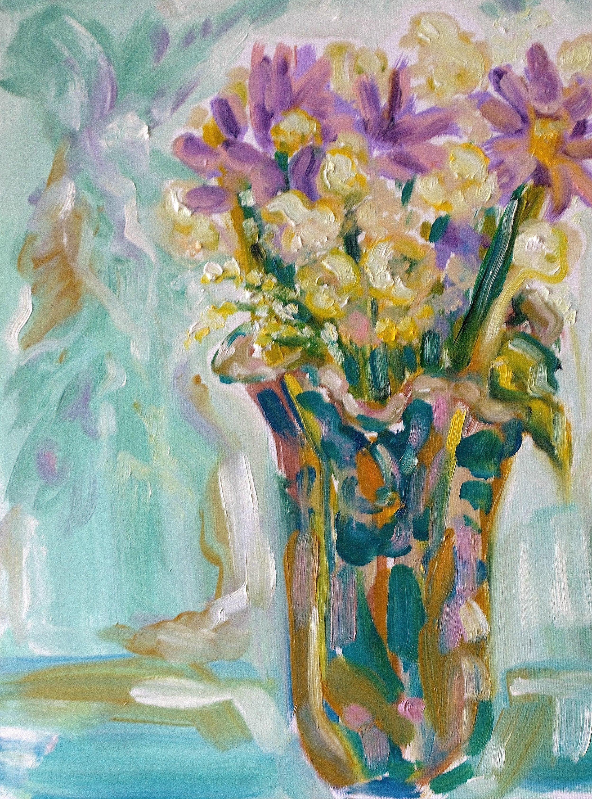 Patricia    Oil on Canvas Board  12 x 16  Sold