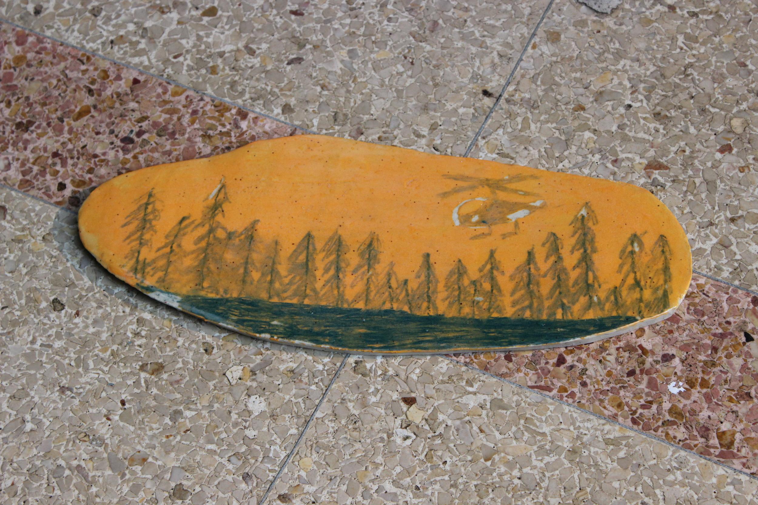 Winslow Laroche,  Late Autumn Slab
