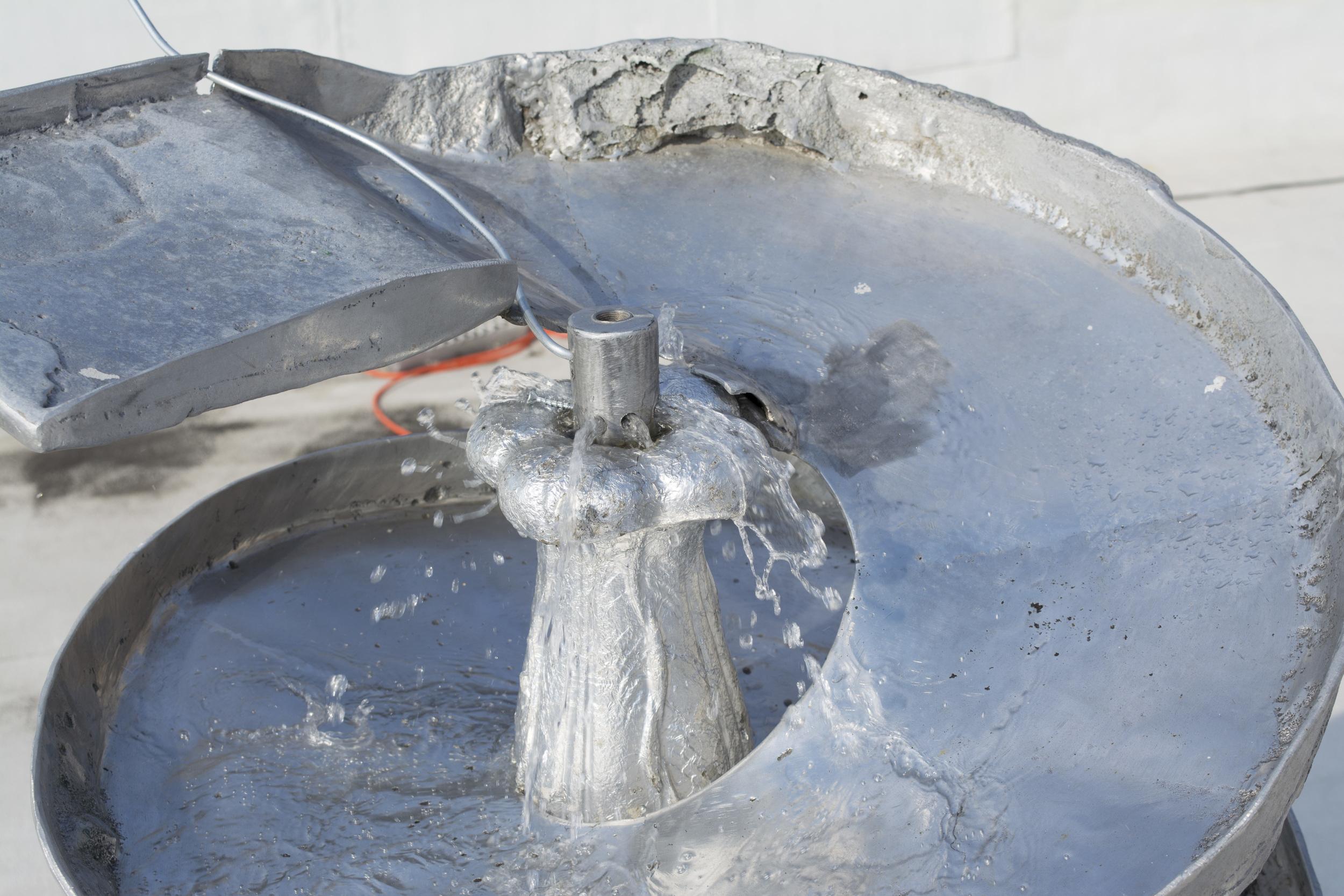 Rob Fischer, Smokey Fountain ,2014
