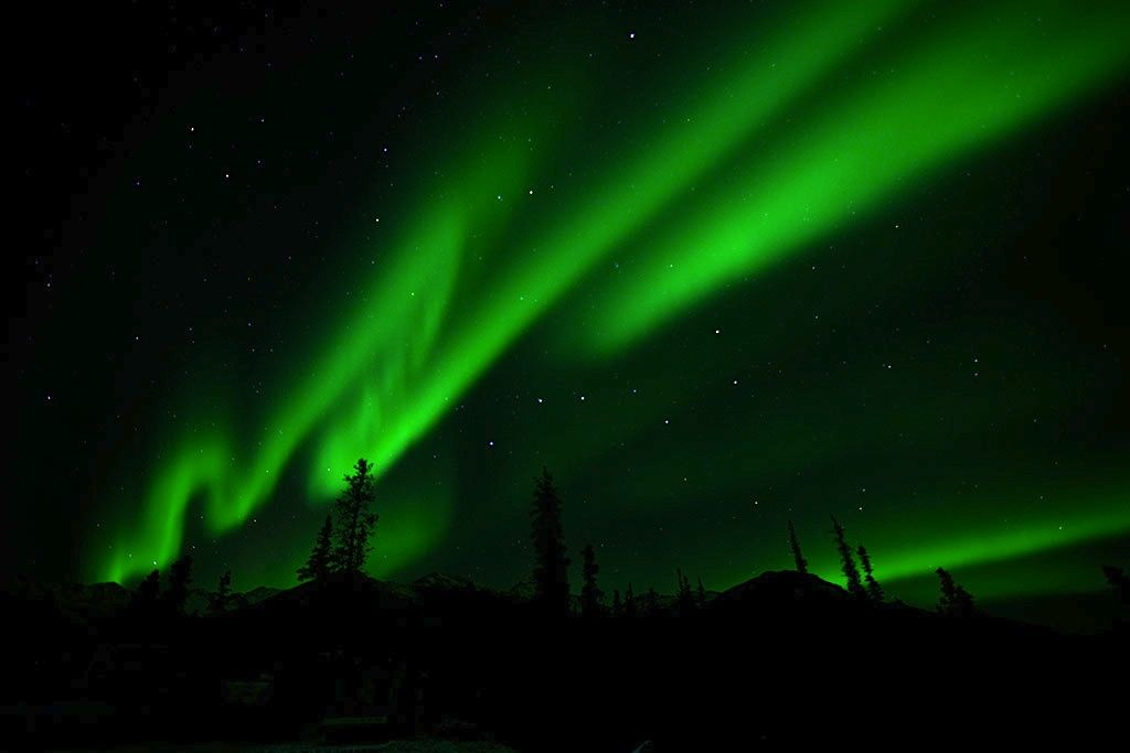 Aurora Borealis, Denali NP (NPS photo)