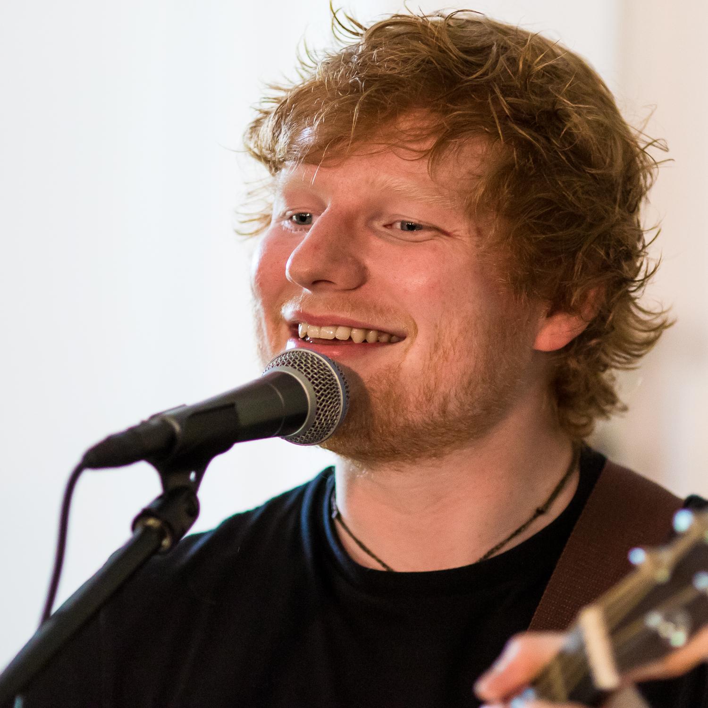 Ed Sheeran, singer/songwriter, Washington