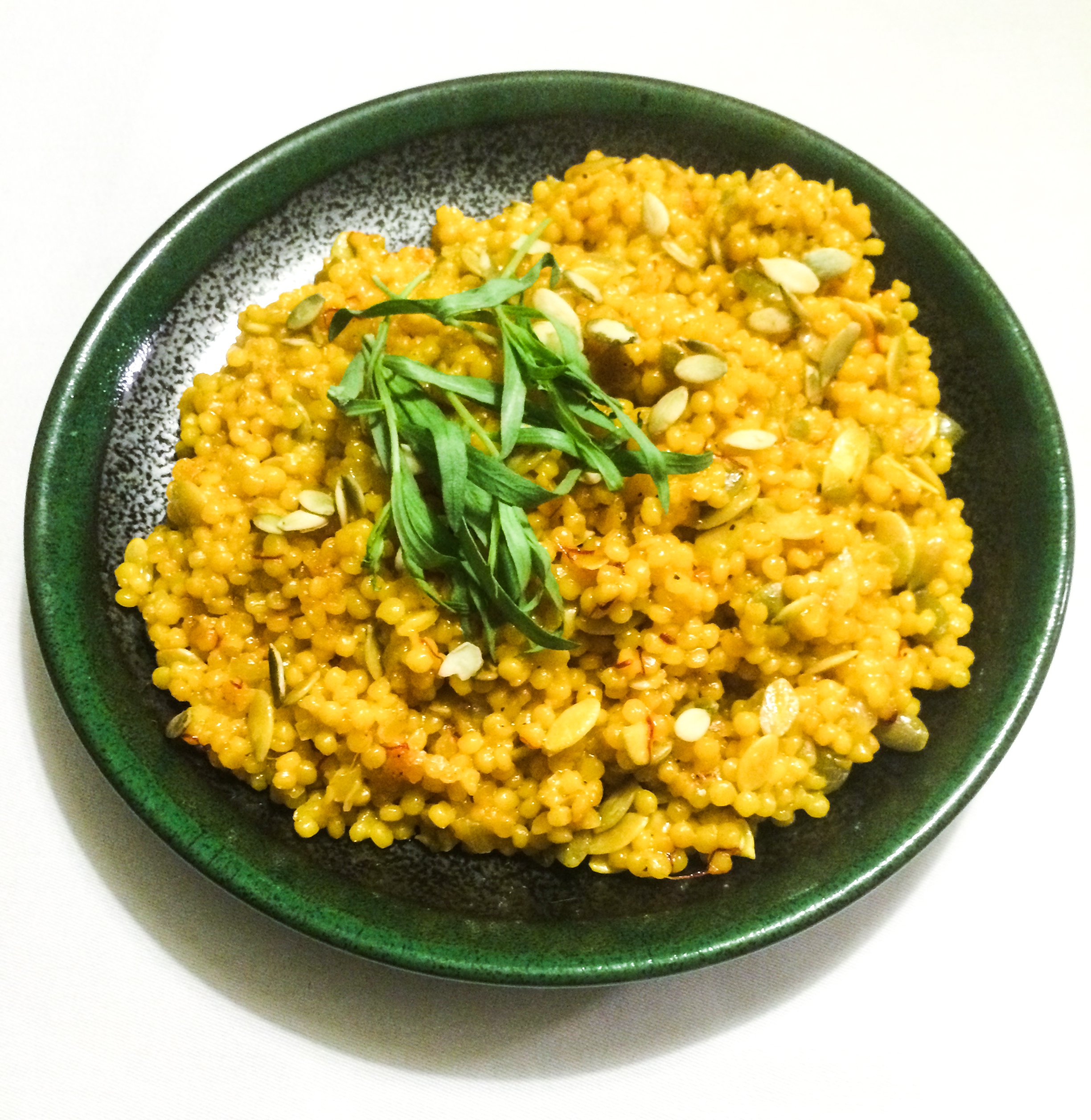 Middle Eastern Couscous with Saffron