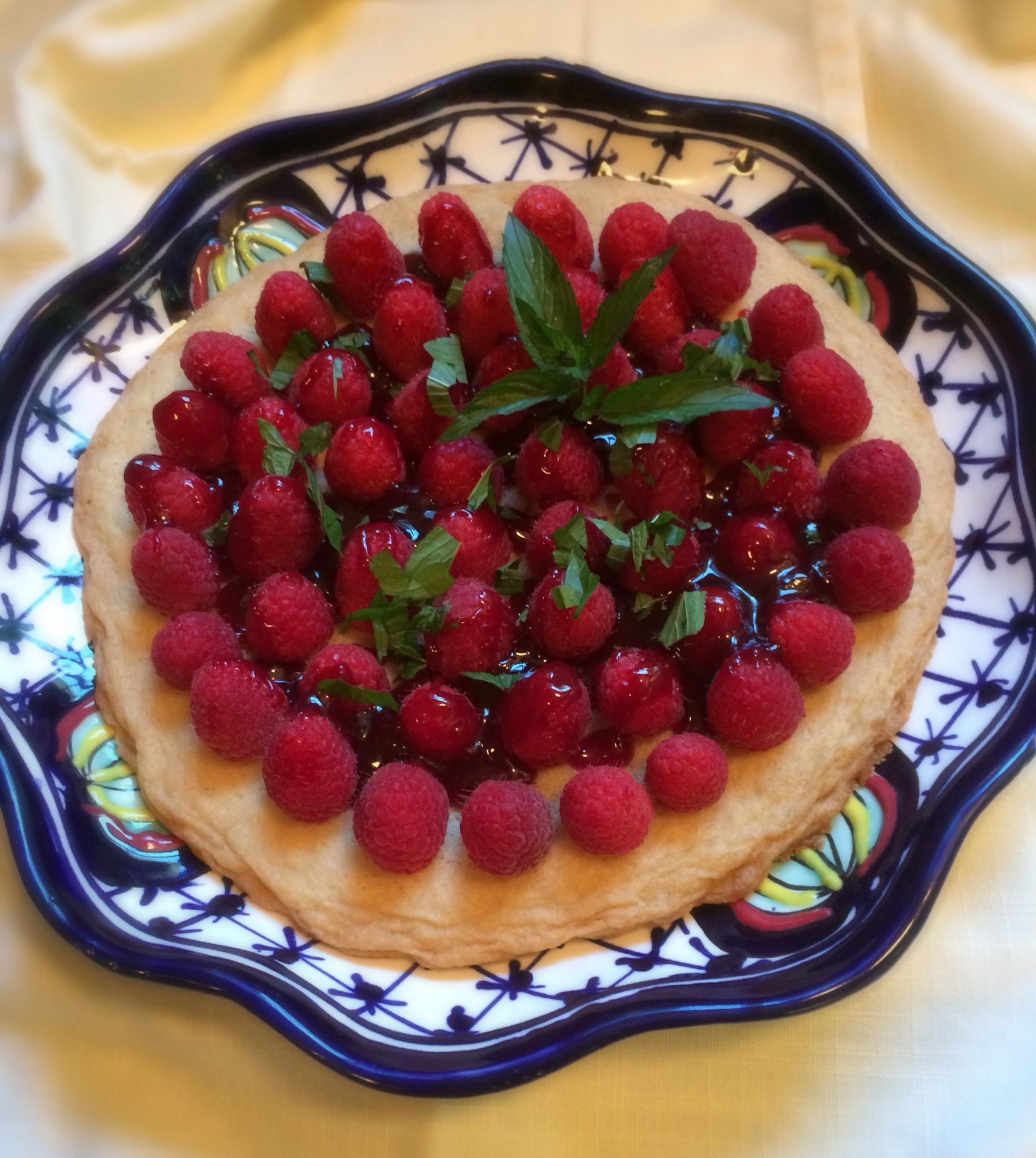 Cookie Dough Raspberry Tart