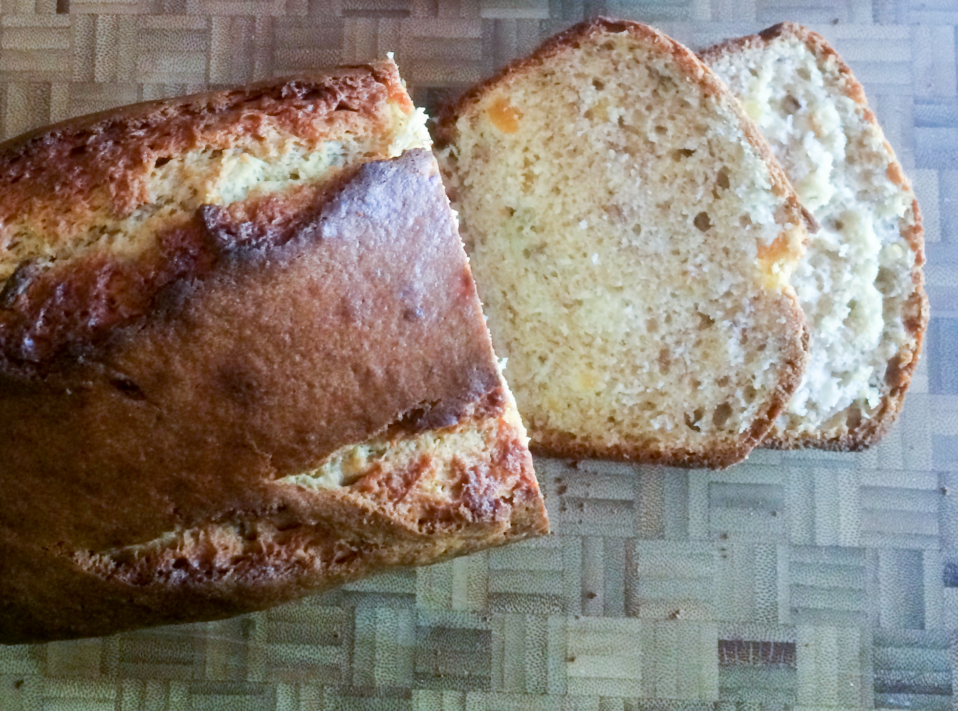 Banana Bread with Sour Cream & Dried Apricots